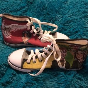 9354672e148b78 Shoes - Harry Potter Custom Made High Top Sneakers
